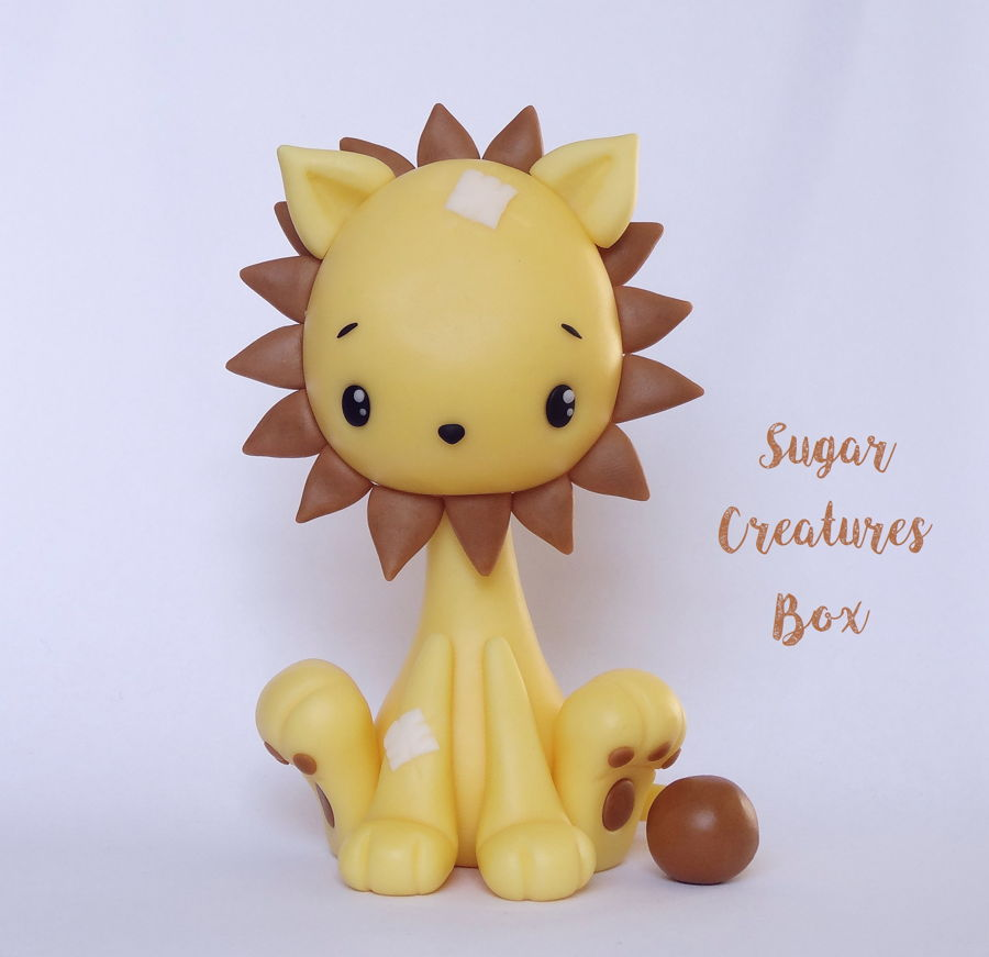 Lion Topper Tutorial on Cake Central