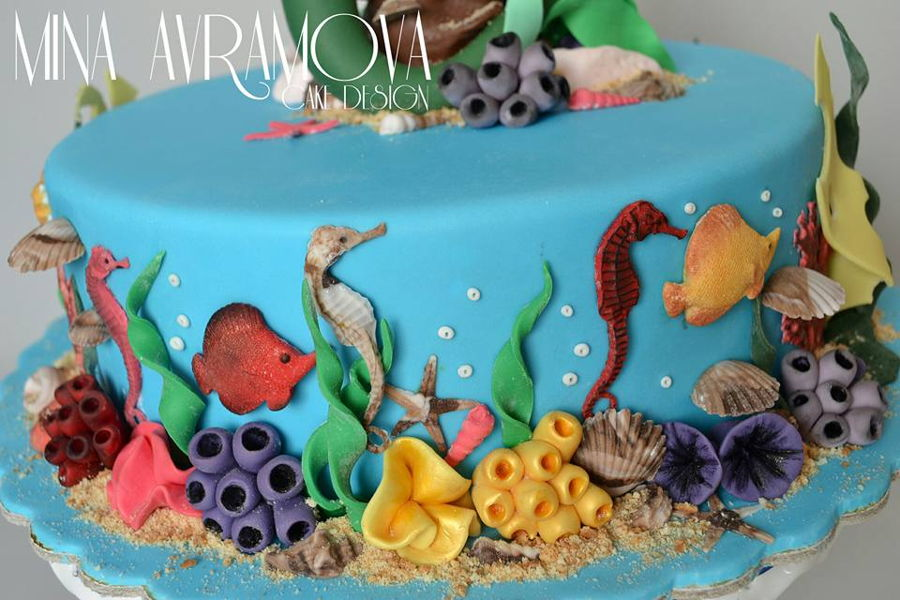 Little Mermaid Ariel Cakecentral Com