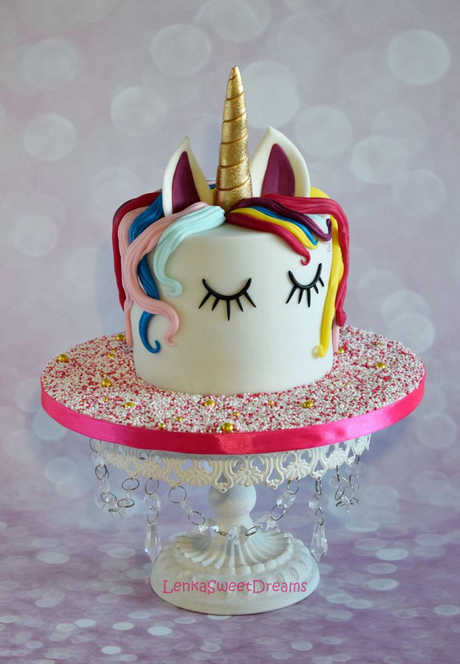 Unicorn Birthday Cake Design : Magical Unicorn Birthday Cake. - CakeCentral.com