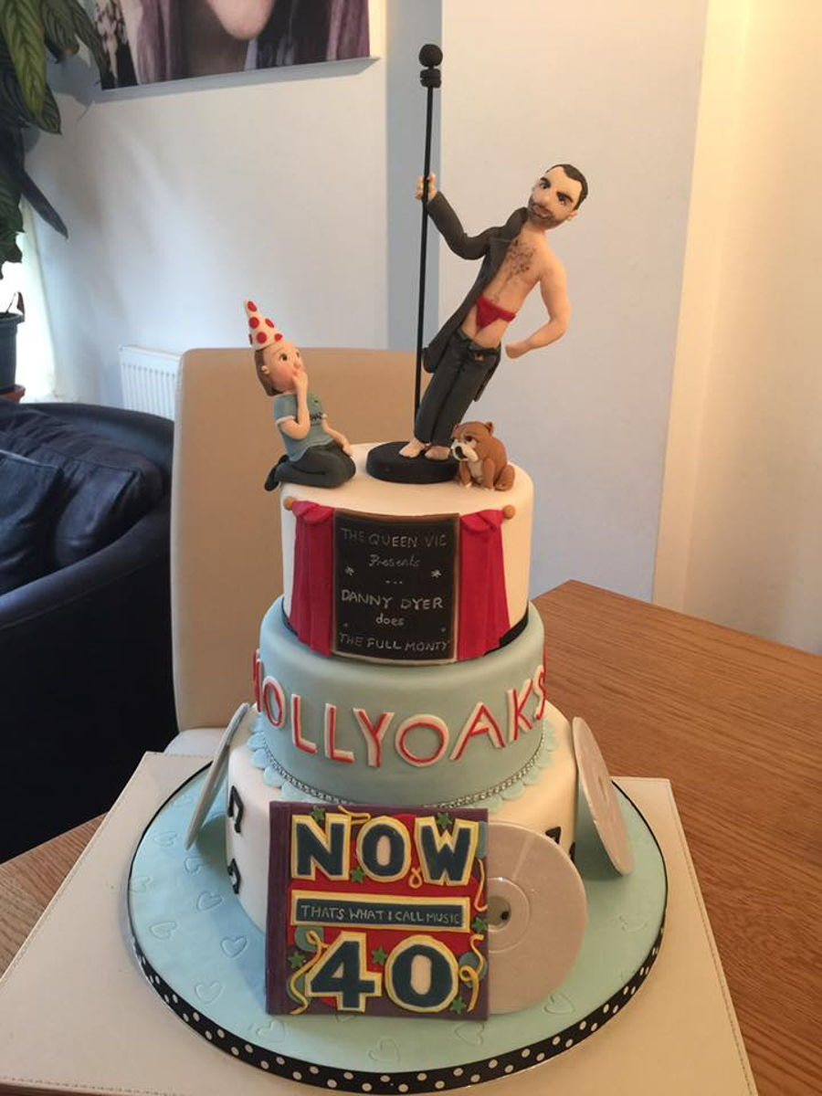 Male Pole Dancer Cake Cakecentral Com