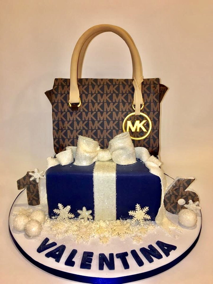 Mk Winter Sweet 16 Cake on Cake Central