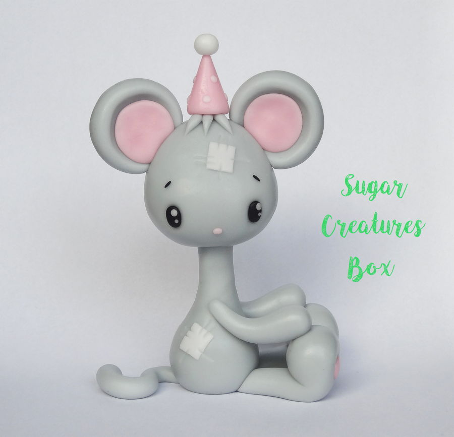Mouse Topper Tutorial on Cake Central