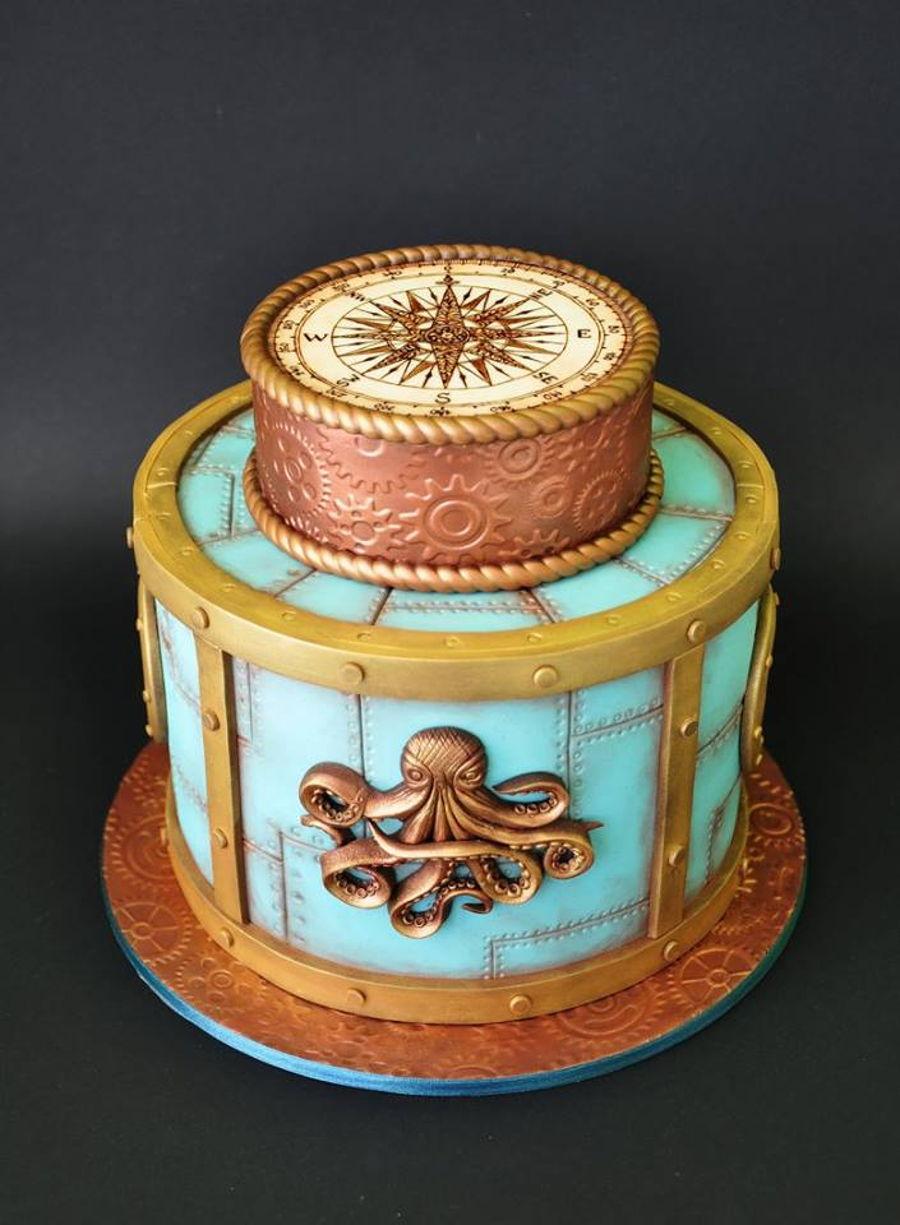 Nautical on Cake Central