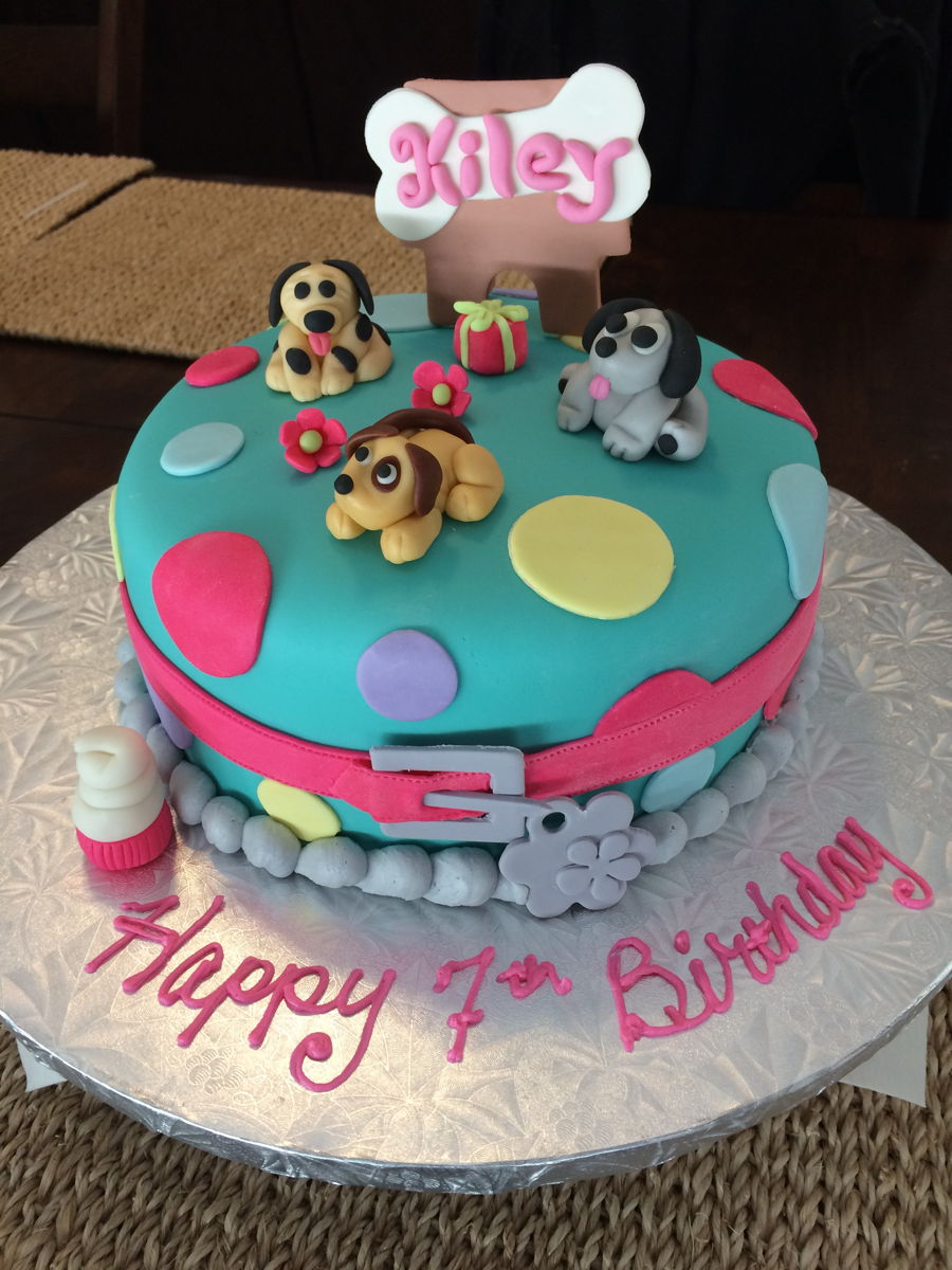 Images Of Cake For Niece : Niece s Puppy Birthday Cake - CakeCentral.com