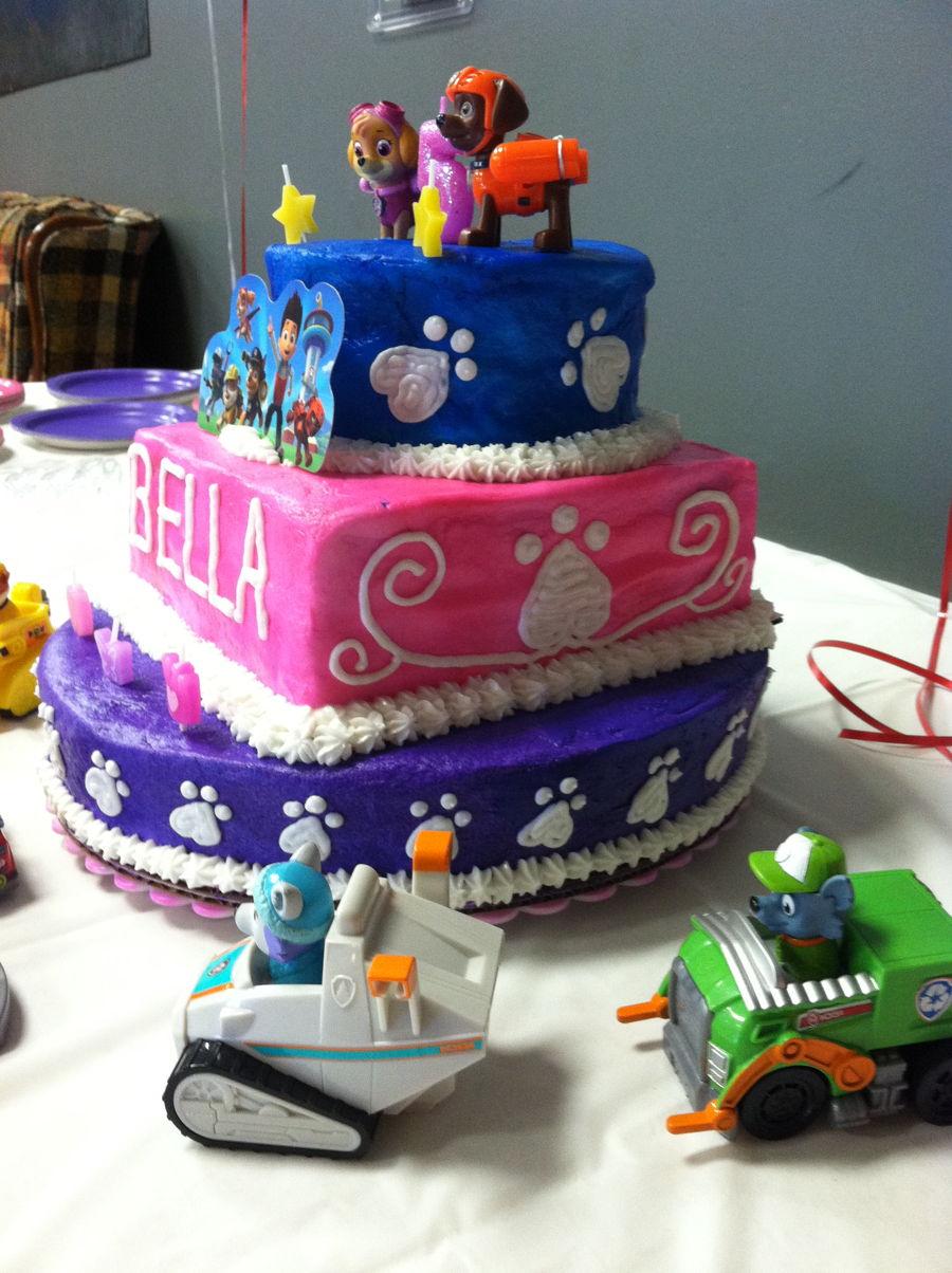 Paw Patrol Marshall Birthday Cake