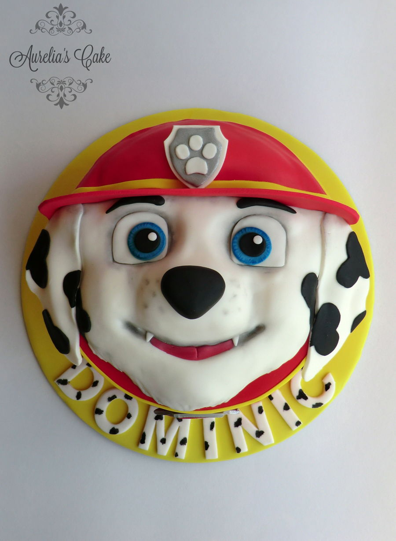 Paw Patrol Cake Marshall Cakecentral Com