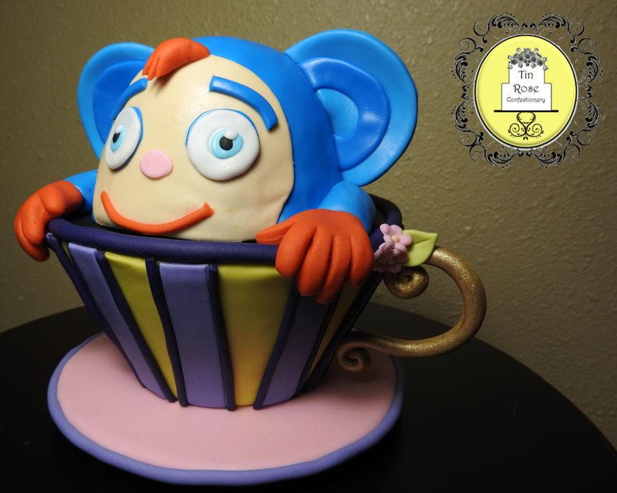 Spongebob Smash Cake And Cupcakes
