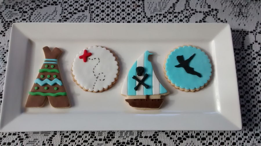 Peter Pan Baby Shower Cookies On Cake Central
