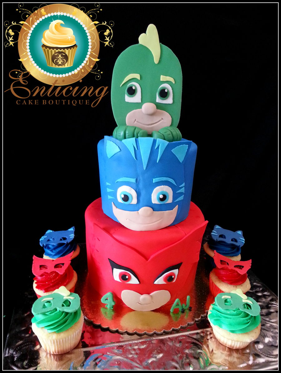 Pj Masks Cake Cakecentral Com