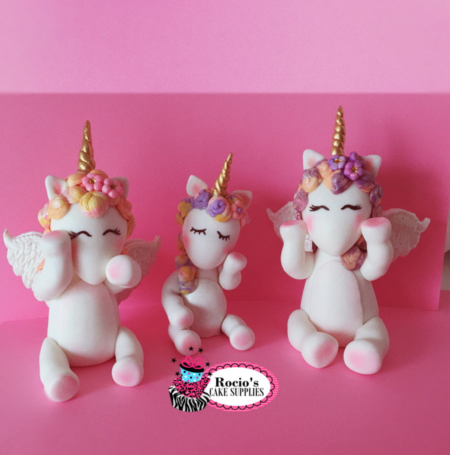 Rainbow Unicorn Cake Topper On Central