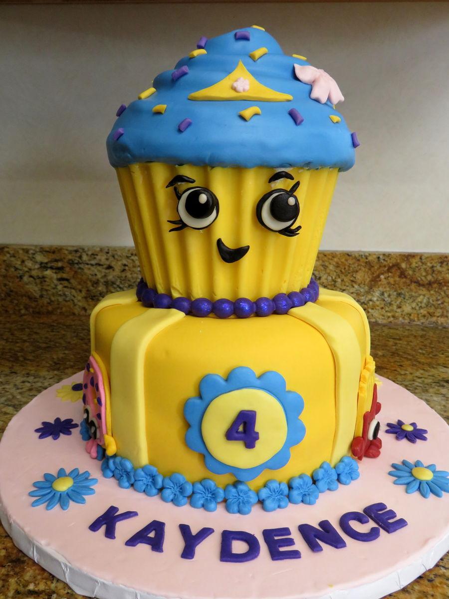 Cake Decorating Shopkins