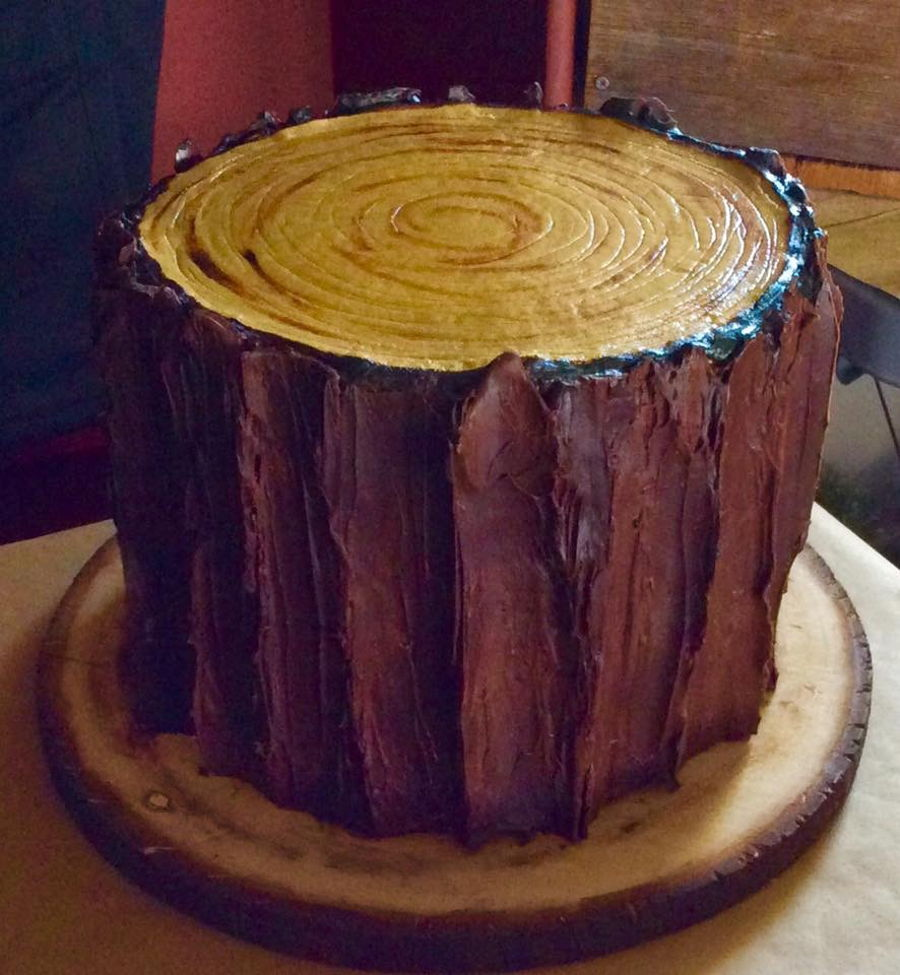 Slab Of Wood Cake Cakecentral Com