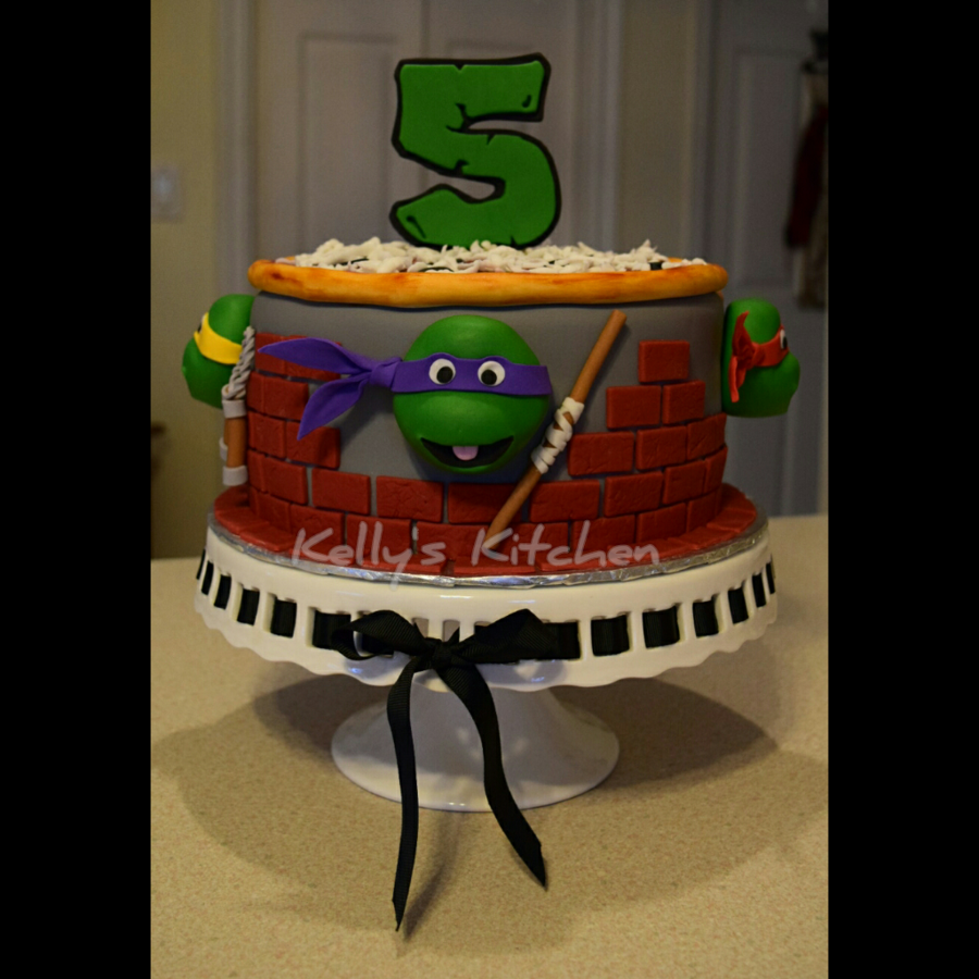 Astonishing Tmnt Birthday Cake Cakecentral Com Personalised Birthday Cards Paralily Jamesorg