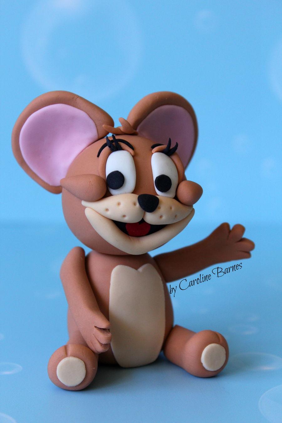 Tom And Jerry Fondant Cake Topper CakeCentralcom