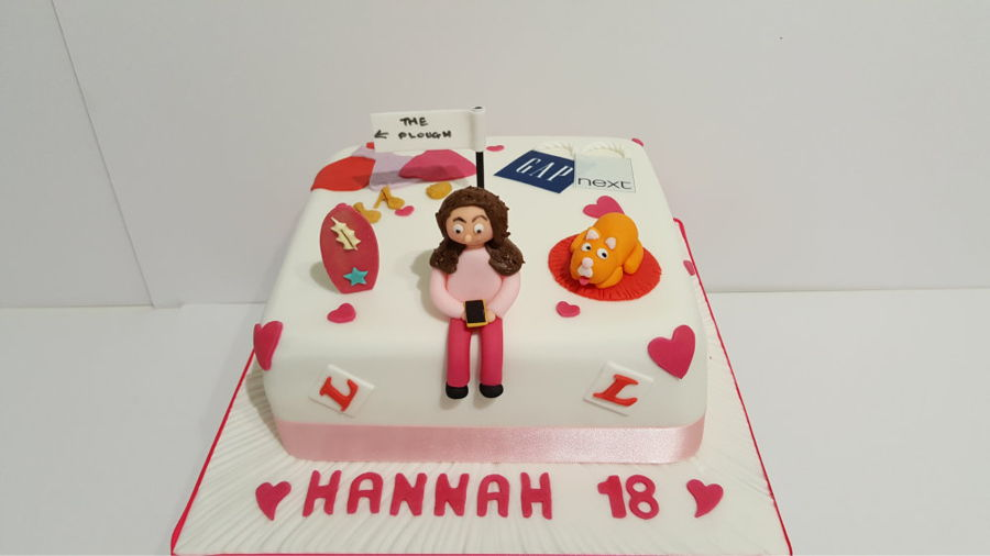 Twin Hobby Cakes For 18 Year Old Mirfield Girls On Cake Central