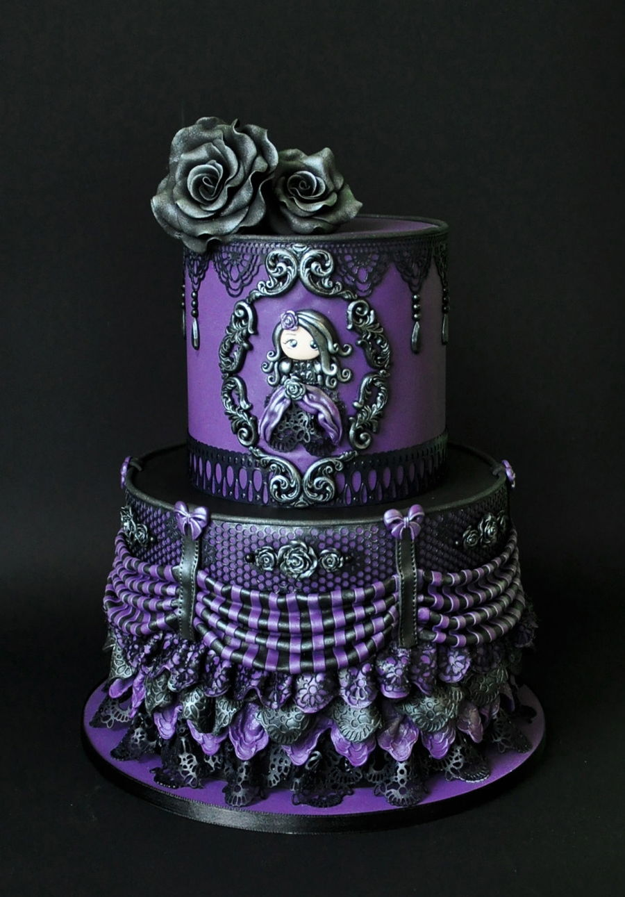 Victorian Gothic - CakeCentral.com