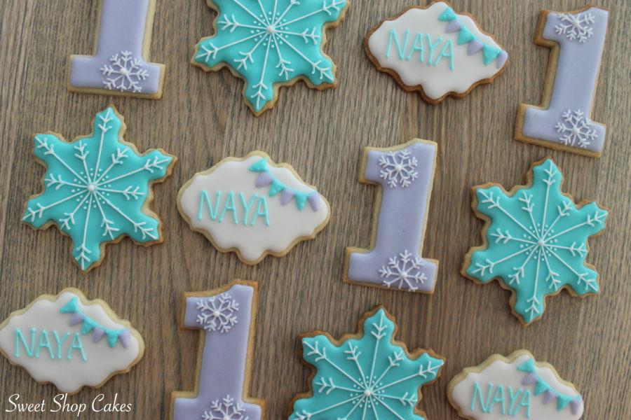 Winter Onederland Sugar Cookies Cakecentral Com
