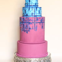 Cake Central Magazine - Julien Fournie Inspired Cake I was honored to be featured in the Cake Central Magazine last October. I used isomalt pearls and wafer paper sequins to represent the...