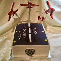 Canadian Snowbirds Canadian Snowbirds cake
