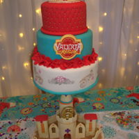 Elena Of Avalor Elena of Avalor Cake with Castle