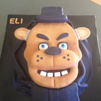 Five Nights At Freddie's Five Nights At Freddie's Birthday Cake