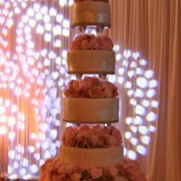 Floral Layers Beautiful Floral Wedding Cake