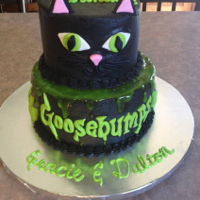 Goosebumps & Black Cat Goosebumps & black cat