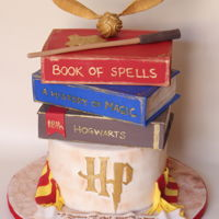 Harry Potter Cake For Icing Smiles I got my first icingsmiles call of action last year and it was a pleasure to make this cake for Cambria for her 18th birthday. She loves...