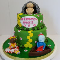 In The Night Garden Cake For A Mirfield Customer In the night garden cake for a Mirfield customer.
