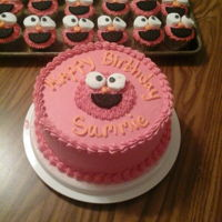 Kid's Birthday Elmo cake