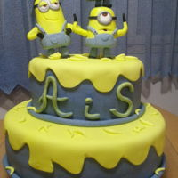 Minions for my sons birthday