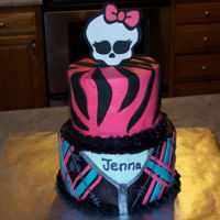 Monster High Monster High two tiered