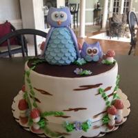 Owl Baby Shower Owl Baby Shower Cake