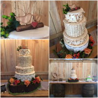 Rustic Wedding Cake Rustic Wedding Cake