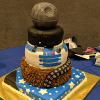 Star Wars Made this for a Star Wars themed Blue and Gold banquet for Boy Scouts. TFL