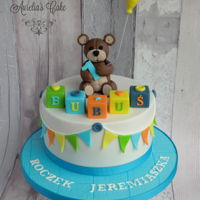 Teddy Bear Cake Teddy bear cake