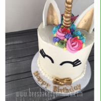Unicorn Cake Cookies and Cream Unicorn Cake