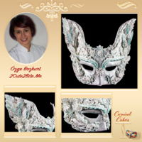 Venetian Carnival Collaboration 2017 Here is my edible/wearable sugar mask, created for the Carnival Cakers .In the coming days I will share more details. ;DShare the love!...