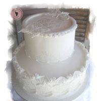 Wedding Cake Royal icing cake