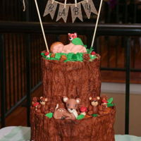 Woodland Baby Shower Modeling Chocolate/Gumpaste Creatures