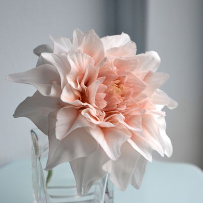 Tutorial - Cafe Au Lait Dahlia