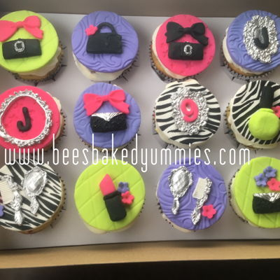 Glam Girl Cupcakes