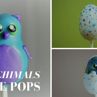 Hatchimals Cake Pop Tutorial! on Cake Central