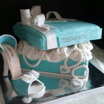 Tiffany Gift Box And Shoe