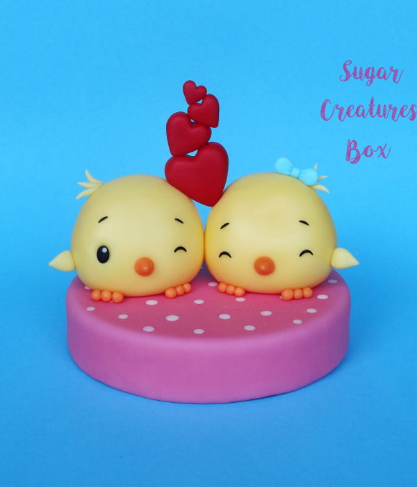 Love Birds Topper Tutorial