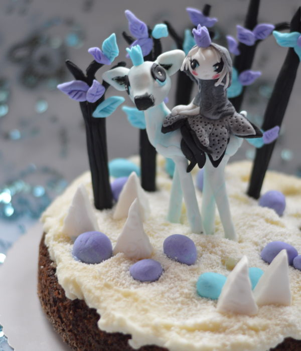Magic Forest Cake