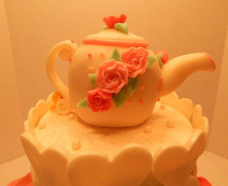 Alice In Wonderland Baby Shower Cake Cakecentral Com