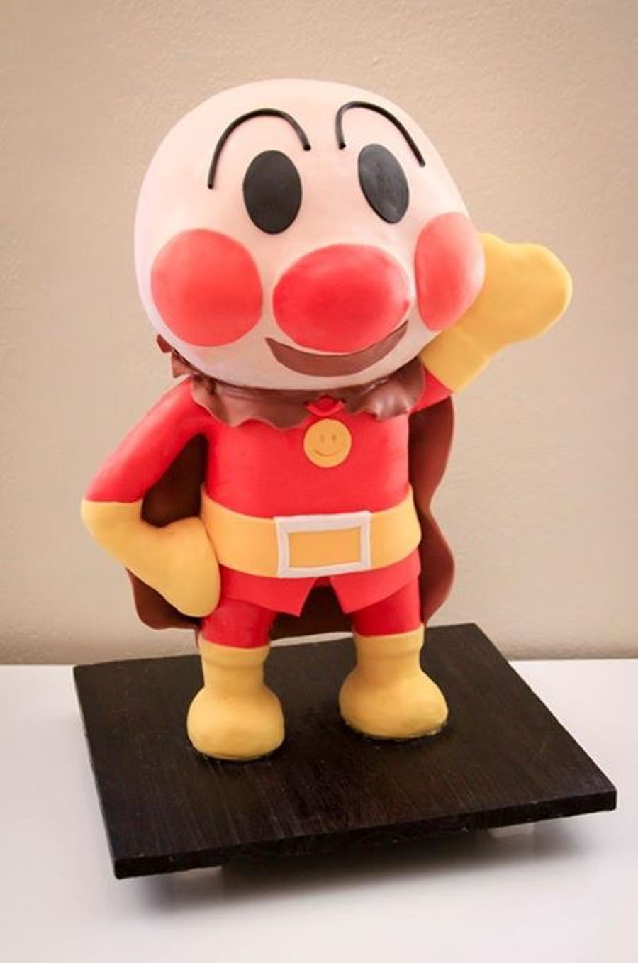 Anpanman japanese character cake for Anpanman cake decoration