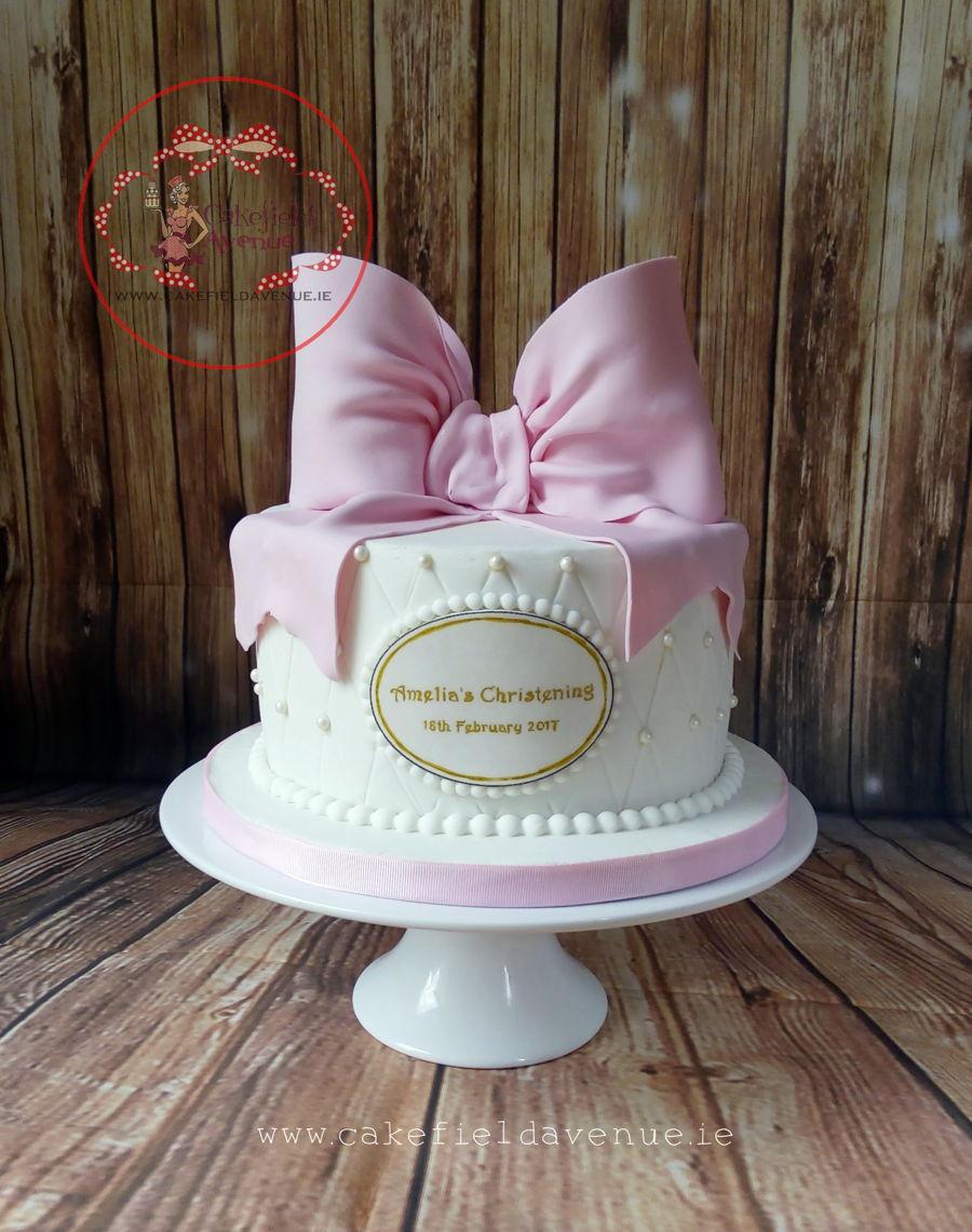 baby girl christening cake cakecentral com