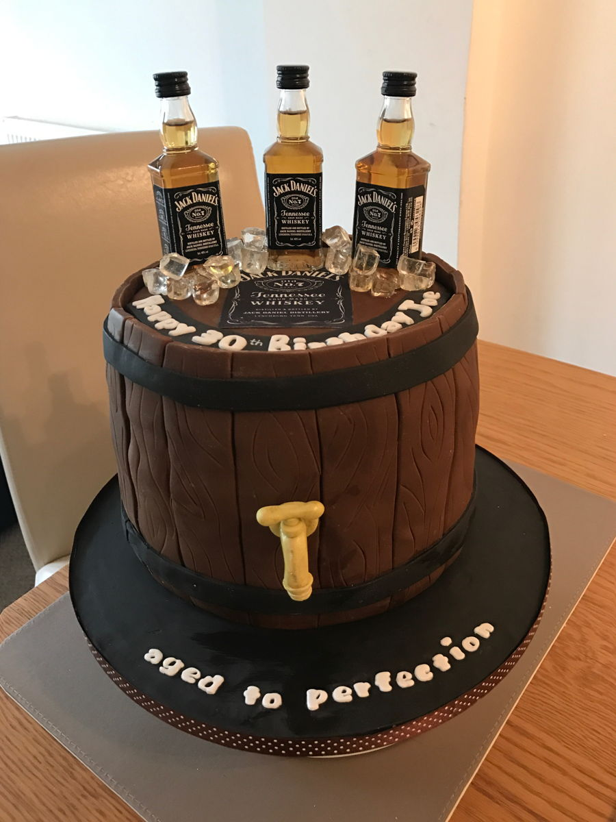 Whiskey Barrel Cake Cakecentral Com